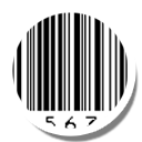 Barcode, Round, Scanner icon