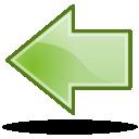 back, arrow, prev, backward, previous, left icon