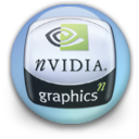 orb, nvidia, blue icon
