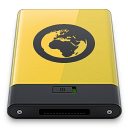 yellow server icon