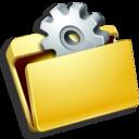 folder,settings icon