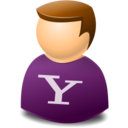 user,web,yahoo icon