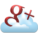 Cloud, Google, Plus icon