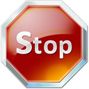 Shadow, Stop icon