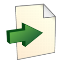 export, file, paper, document icon