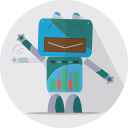 metal, mascot, robot, space, robotic, mechanical, technology, robot expression, fun robot, android icon