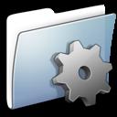 folder, smooth, developer, graphite icon