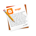 blog,blogger,text icon
