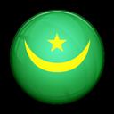 Flag, Mauritania, Of icon