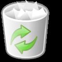 recycle bin, user, full, account, human, people, trash, profile icon