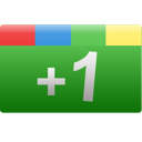 green, rectangle, plus, google+, +1, one, google icon