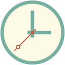 time, timer, alarm, wait, clock, watch icon
