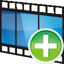 Add, Movie, Track icon