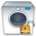 Machine, Unlock, Washing icon