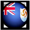 flag, anguilla, of icon