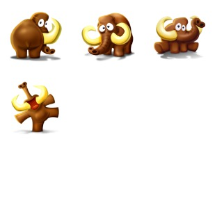 Mammoth icon sets preview