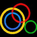 Circles, Google, Plus icon