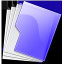 folder,purple icon
