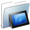 smooth, graphite, wallpaper, folder icon