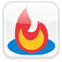 badge, feedburner icon
