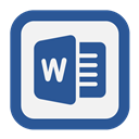 Outline, Word icon