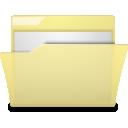folder, manilla icon