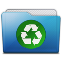 folder recycle icon