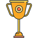 Sports trophy icon