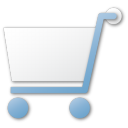 cart, commerce, shopping cart, shopping, buy, blue icon