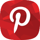 pinterest, social network, images icon