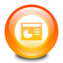 ppt, microsoft, powerpoint icon