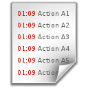 text,log,file icon