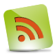 Green, Hover, Rss icon
