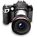 canon, digital camera, dslr, photography, camera icon