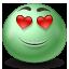 Emot, Inlove icon