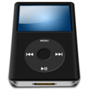 ipod,black,alt icon
