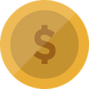 euro, bitcoin, dollar, cash, coin, finance, currency icon