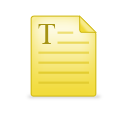 note, paper, file, document icon