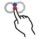 infinity, gestureworks, shape, stroke icon