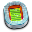 field, football, sport, soccer, stadium icon