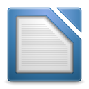 Apps libreoffice writer icon