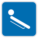 , Luge icon