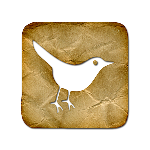 animal, social, sn, social network, twitter, bird, square icon