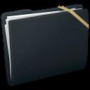 Elastic Generic Black icon