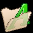 folder,beige,font icon