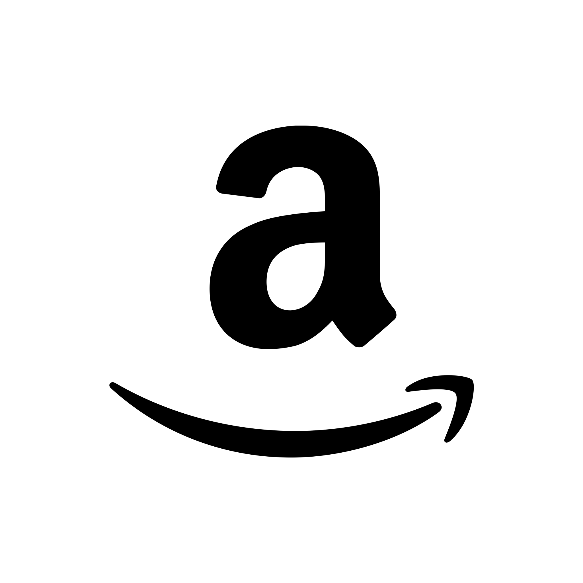 black, amazon icon