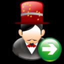 Magician, Next icon