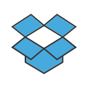technology, data, cloud, screen, brand, storage, dropbox icon