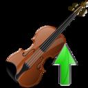 Up, Violin icon