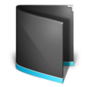 folder,generic,black icon